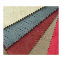 Stock Ready Goods Cheap Price Good Quality Microfiber Faux Suede Fabric