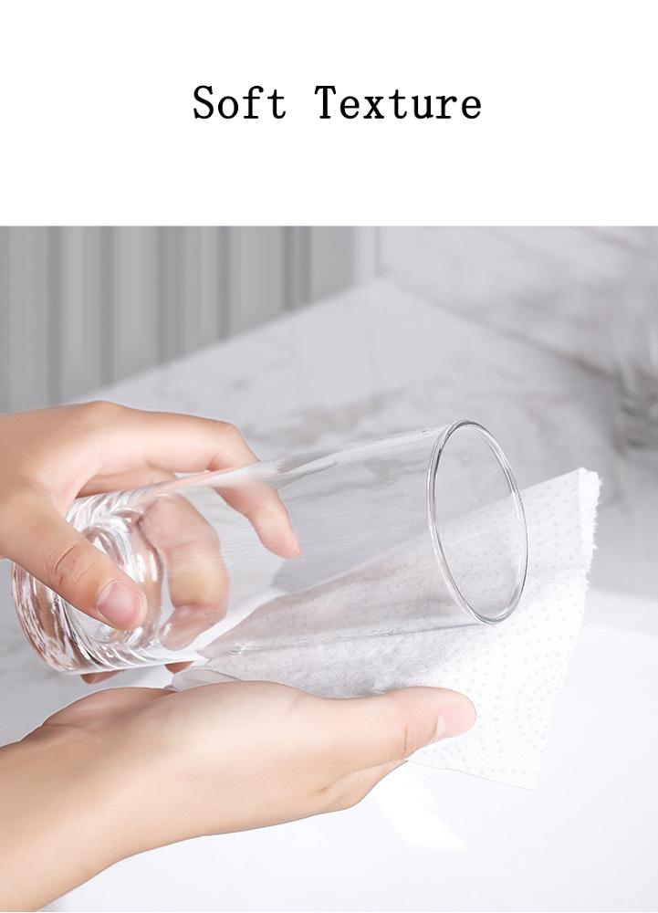 High Quality Strong Water Absorption Virgin Wood Pulp Kitchen Paper Towel Tissue Paper