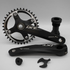 Bicycle Crank & Chainwheel hollow 170mm cnc single chain ring crankset mtb bicycle crankset