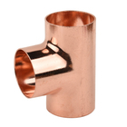 Factory Picc Insurance Plumbing Hot Sale Equal Shape Tee Copper Fitting