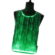 RGB Kleuren Verwisselbare Music Light up Glasvezel Meisjes Party Dress Rave LED <span class=keywords><strong>Glow</strong></span> <span class=keywords><strong>in</strong></span> <span class=keywords><strong>The</strong></span> <span class=keywords><strong>Dark</strong></span> Lichtgevende Festival Kleding