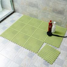 1/4/8 шт., Нескользящие коврики для ванной из ПВХ, коврики для ванной, полый коврик для ванной, ковер для душа, домашний туалет, коврик для ванно...(Китай)