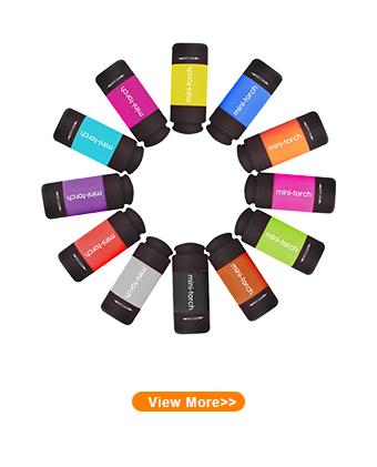 LLavero de alta potencia recargable, Logo personalizado, publicidad, contenido, Mini USB, linterna LED