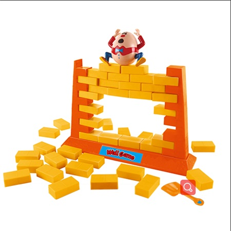 Toys For Kids New 2020 Amazon Originality Design Cartoon Baby Toy Parent-Child Game The Hen Dismantles Wall Educational Wood Toy