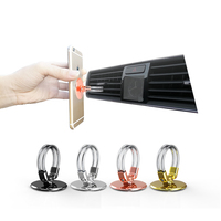 Universal 360 Rotates Ring Stand Phone Holder car phone holder car mount holder for car Mobile Accessories