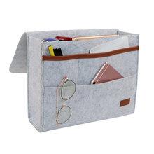 Прикроватная сумка, карманы, домашний диван, прикроватная тумбочка, войлочный подвесной органайзер для хранения, сумка, Лучшая Продажа-WT(Китай)