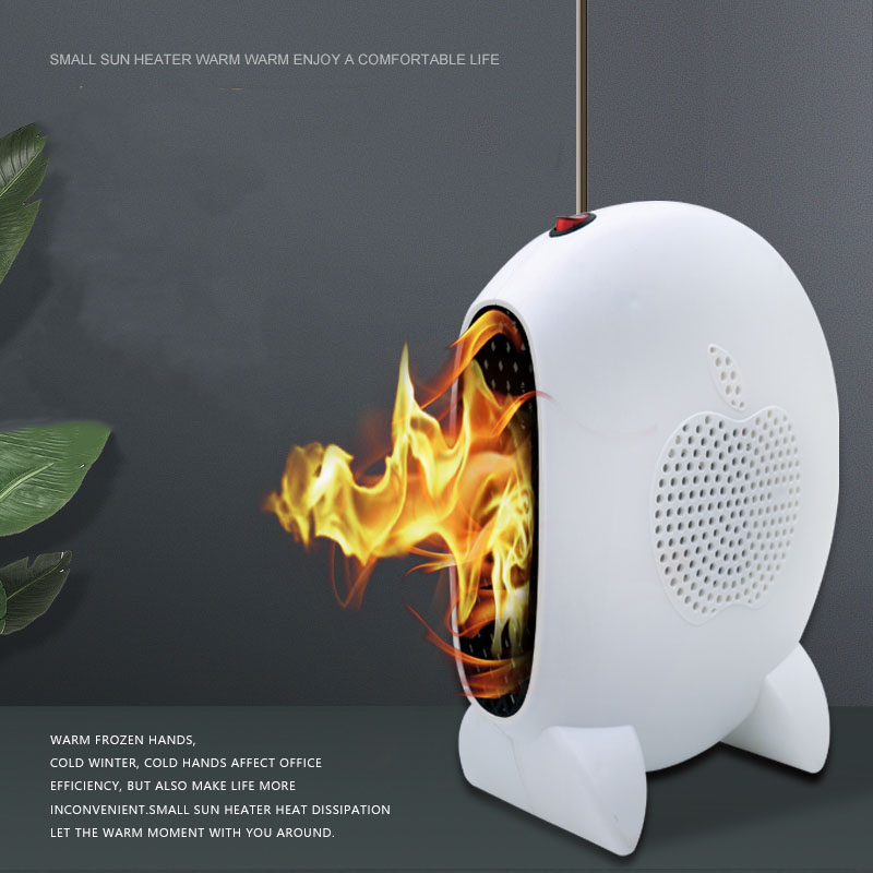 Winter new fashion Mini heater Small sun heater Office bedroom electric heater