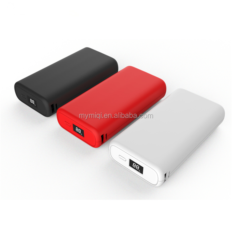 2020 QC3.0 quick charge and PD agreement power bank 10000mah/20000mah could charge laptop 18W 12V 1.5A