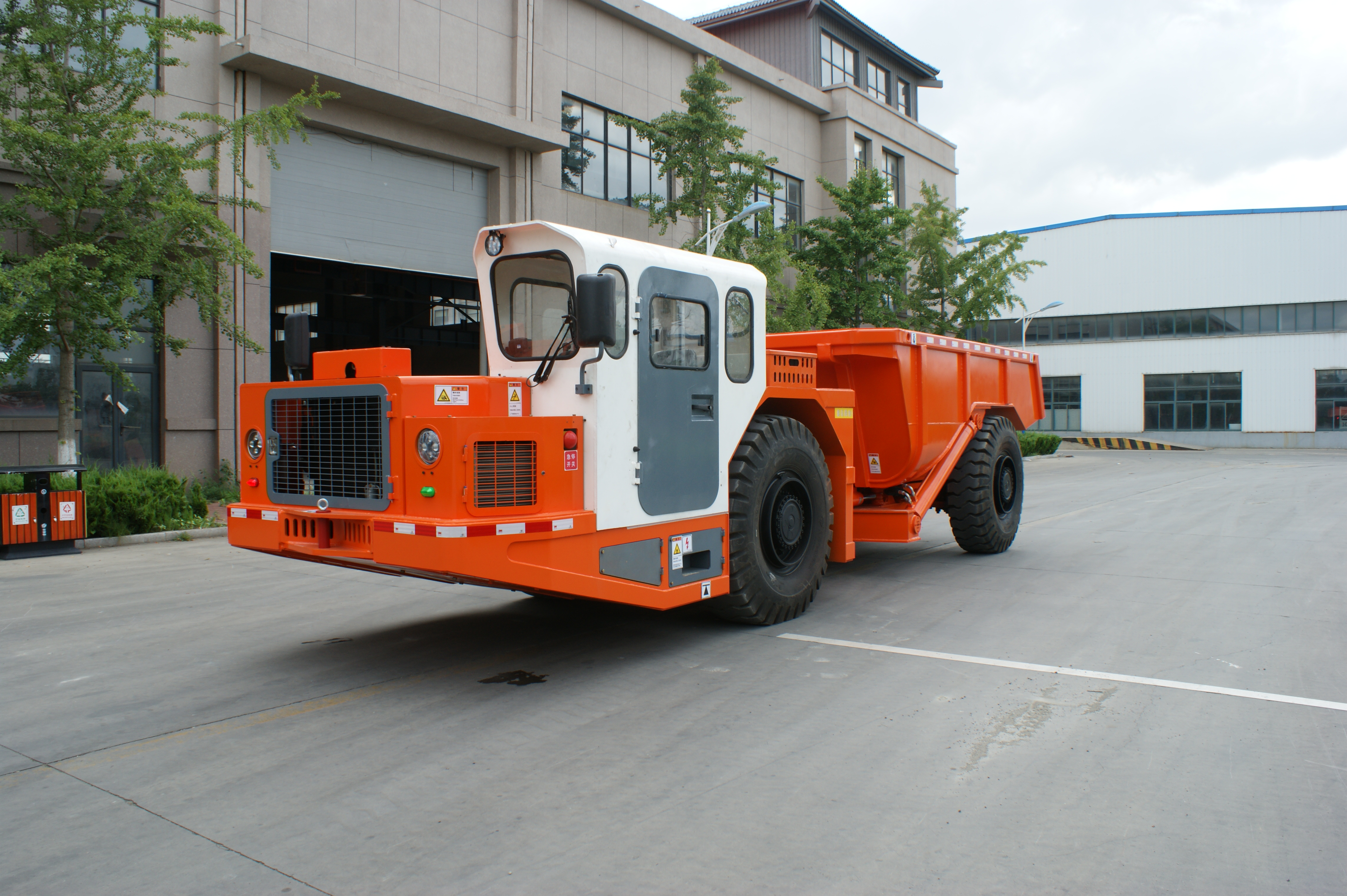 20ton underground articulated dump truck with CE certificate