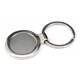 QUAFF high quality and popular sublimation blank metal keychain for unique gift