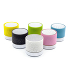 Colorful Wireless Mini Portable Twinkle Led Light Bluetooths Speaker with FM Radio