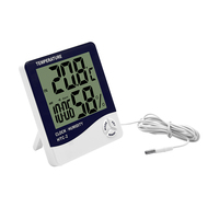 Newest design economic temperature humidity meter room digital