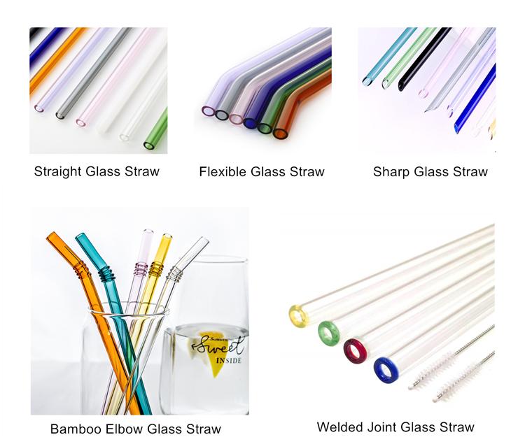 borosilicate straw