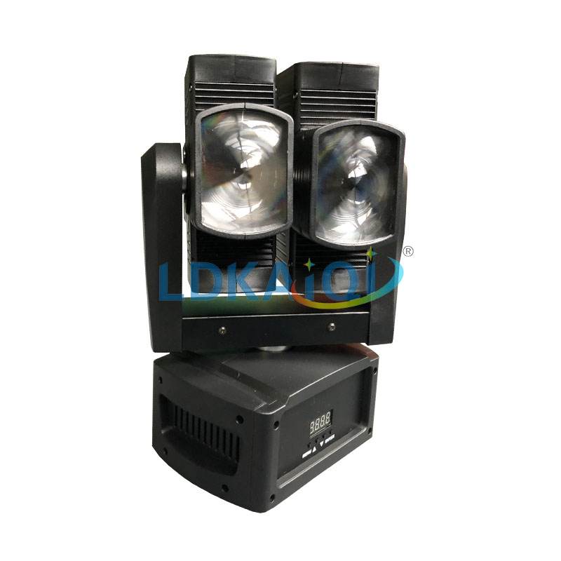 Dual Led beam moving head 8X10W Wedding decoration led lighting club lightly effects