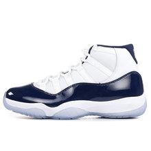 Оригинальные белые баскетбольные кроссовки concord 11 11s с серебристыми металлическими крышками и платьем, высокие низкие женские мужские крос...(Китай)