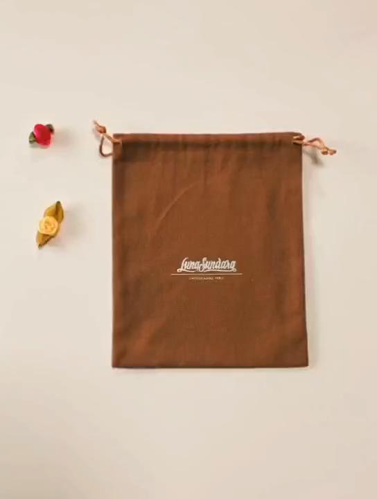 Color natural al por mayor de algodón de cosméticos bolsa de lino, bolsa de algodón de lujo pulseras de logotipo personalizado para la bolsa de té