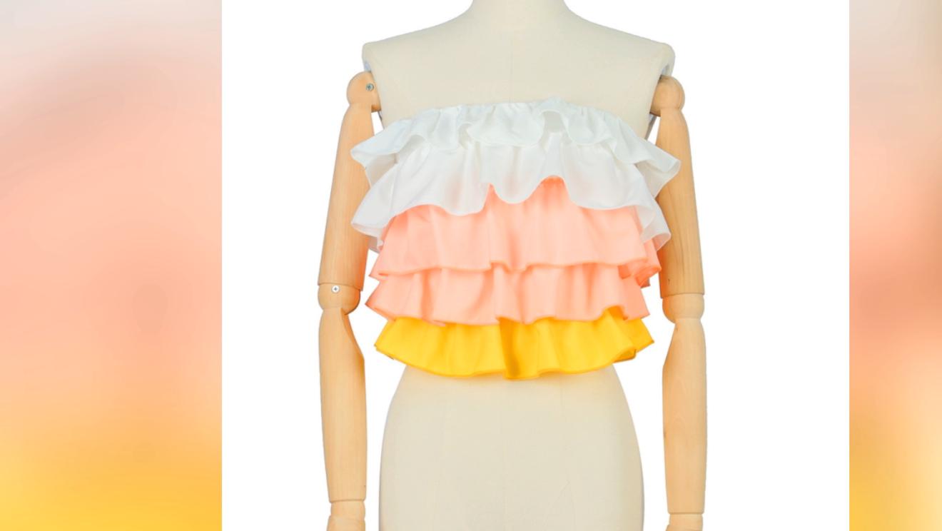 Womens Clothing Wrap White Women Blouse Ready To Ship
