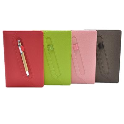 Livro diário com loop caneta escritório papelaria JIngu logotipo personalizado notebook