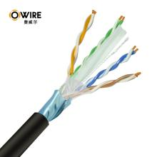 23AWG FTP Cat6 Ethernet Cable BC/CCA Network Cable Pass Fluke