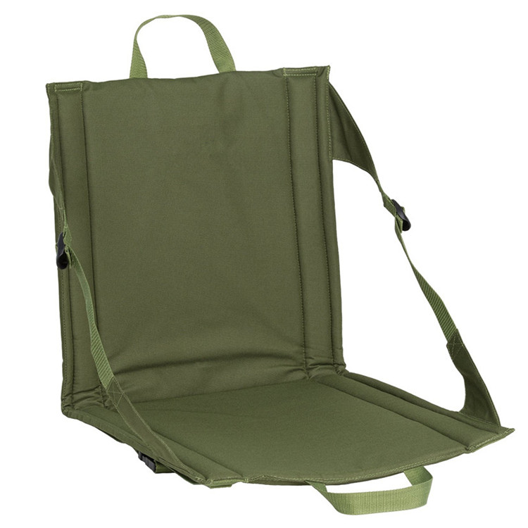 Portable Foldable Outdoor Stadium Seat Cushion for Camping