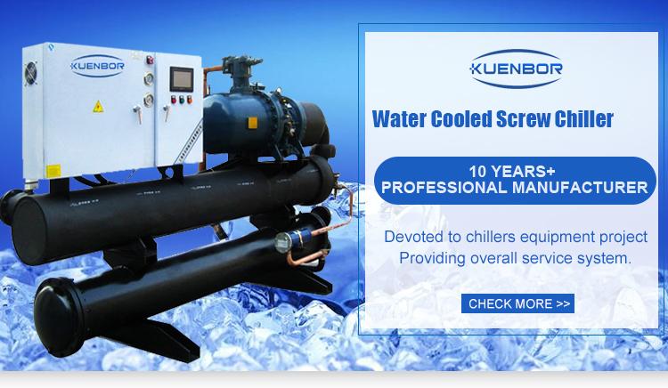 Controle Schroef Type Compressor Chiller Voor Spuitgieten
