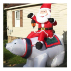 Wholesale Oxford Cloth Inflatable Christmas Cartoon Polar Bear