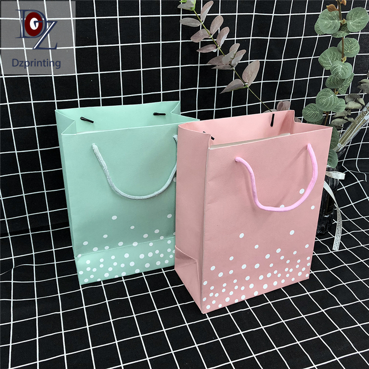 product-Dezheng-Custom Printed Bulk Wholesale Personalized Paper Bags With Your Own Logo-img-1