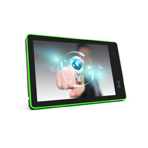 Hot sell Android Tablet with led light bar RJ45 poe advertising display RK3288 Quad Core for meeting room