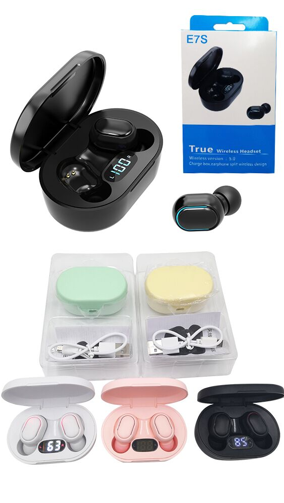 Wireless Earbuds TWS Sports Handsfree Headsets Ear buds In Ear Earphone with Mic