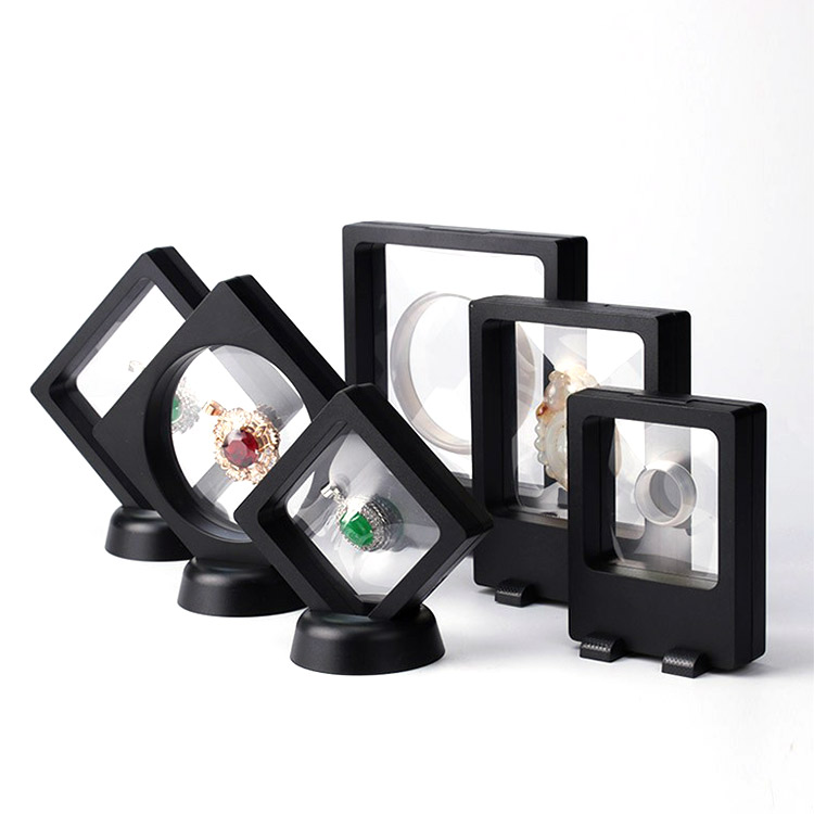 3d floating frame <strong>display</strong> 300 mm,3d floating frame <strong>display</strong> holder,floating gemstone <strong>display</strong>