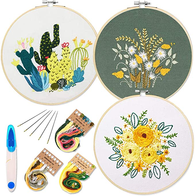 Embroidery Rose Patch Diamond Painting Cross Stitch Product hand embroidery