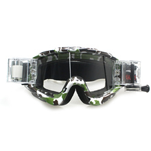 Camo Druck Roll Off System <span class=keywords><strong>Motocross</strong></span> Brille