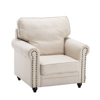 tufted chair modern sofa Upholstered Armchair