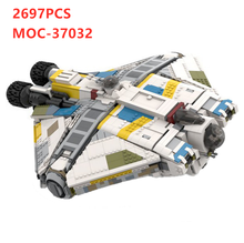 Новый Legoins Звездные войны серии призрак vcx-100 военный грузовой космический корабль moc-37032 Высокая сложность сборки Игрушка мальчик подарок на...(Китай)