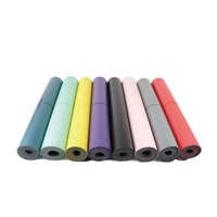 Eco Polyurethane Natural Rubber Pu Yoga Mat With Customized Logo And Design