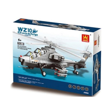 New Item Wange Helicopter Building Blocks Dr Luck Brand 304PCS