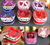 Wholesale  Christmas Apple Paper Box Gift Candy Cookie Santa DIY Packing Box Hot Sell