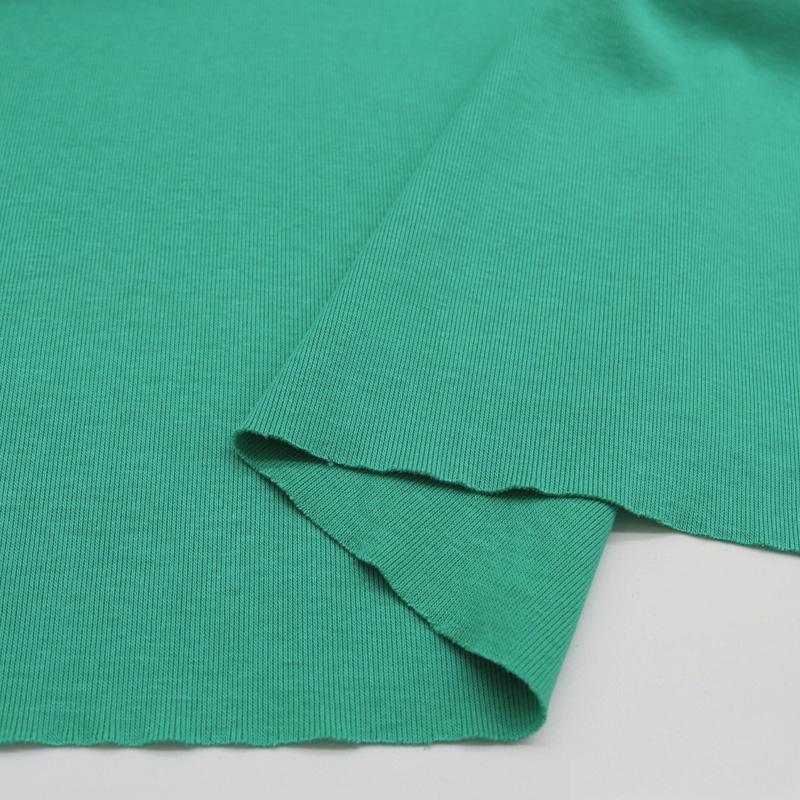 32s 1x1 tubular pure Cotton Knit rib fabric for clothing collar
