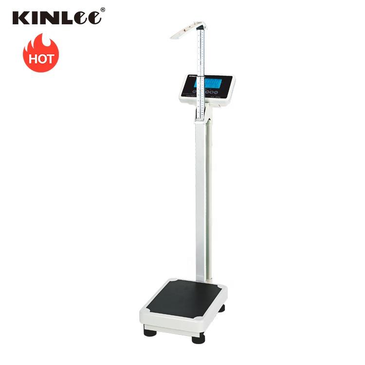 2019 Digital Platform Scale 200Kg BMI Skala Elektronik Medis Pengukuran Tinggi Skala Berat