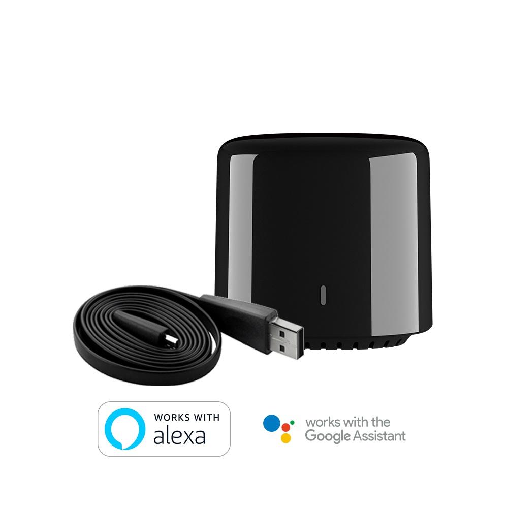 2020 Broadlink RM4C Mini Smart WiFi controlador remoto IR Módulos de Automatización Compatible con Alexa amazon Google