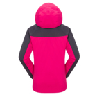 Jacket Winter Women's Outdoor 3-in-1 Waterproof Ski Jacket Fleece Inner Winter Coat With Detachable Hood