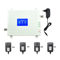 New item 900mhz 1800mhz 2600mhz mobile phone repeater for FDD LTE 4G network