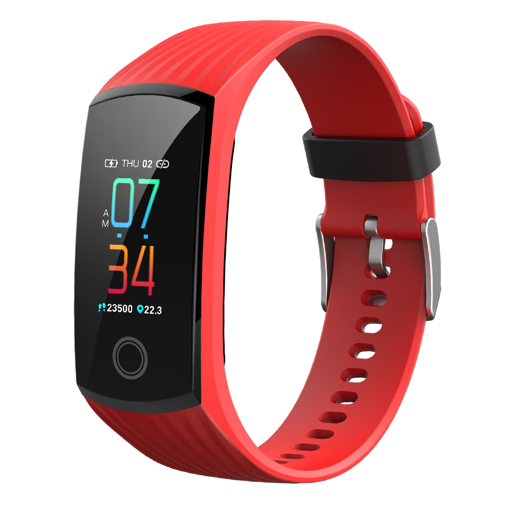 Customized wrist watch smart waterproof IP67 heart rate smart fitness band blood pressure smart bracelet FITUP <strong>V16</strong> in shenzhen
