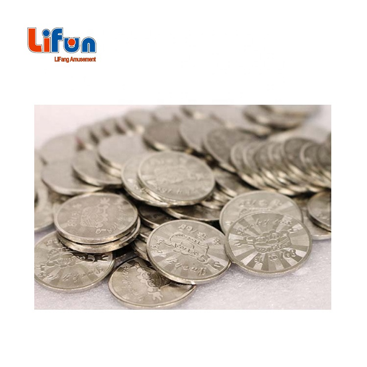 Free Sample Custom Arcade Game Coin Token For Vending Machine And Coin Operated Game Machine
