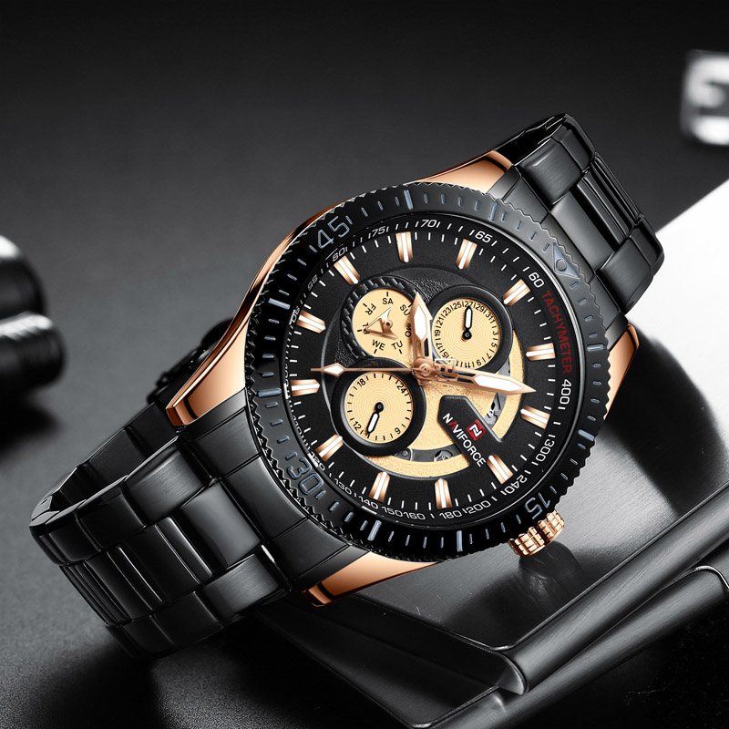 Naviforce 9140 Quartz Watch 2