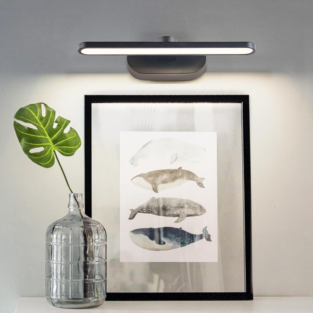 Black vanity mirror lights aluminum 10w wall lights indoor hotel hallway housing LED Wall Lamps indoor wall sconce