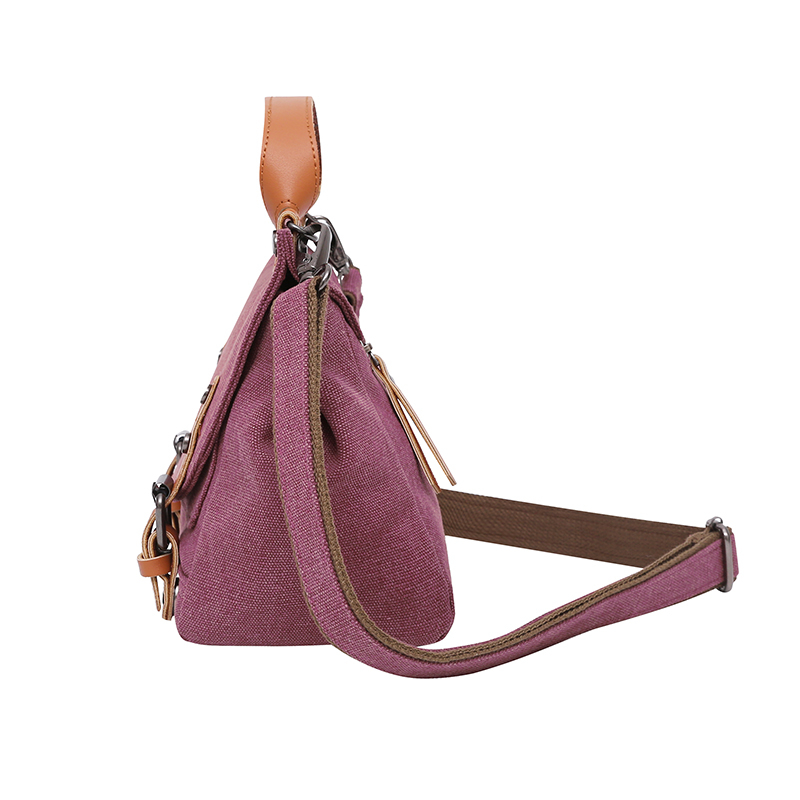 Canvas Hobos Bag Small Women Handbags Female Designer Brand Purse Shoulder Bags for Travel Weekend Outdoor Feminine Bolsas