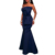 Elegent Western Long Evening Dresses Ladies Party Wear Gown for Girls