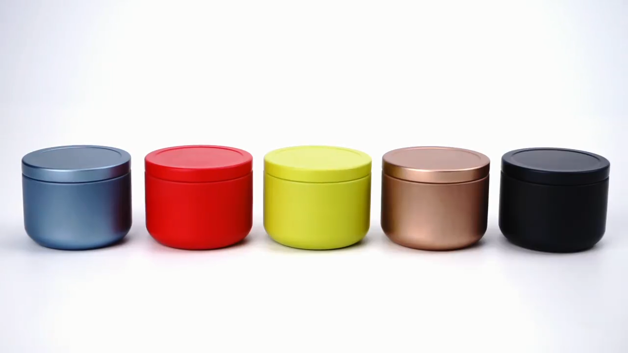 Custom Matte Design Accepted Antique Tiny Size Tea Metal Tin Box Mini Coffee Bean Tin Box Tea Tin Cans Sealing Air Tight