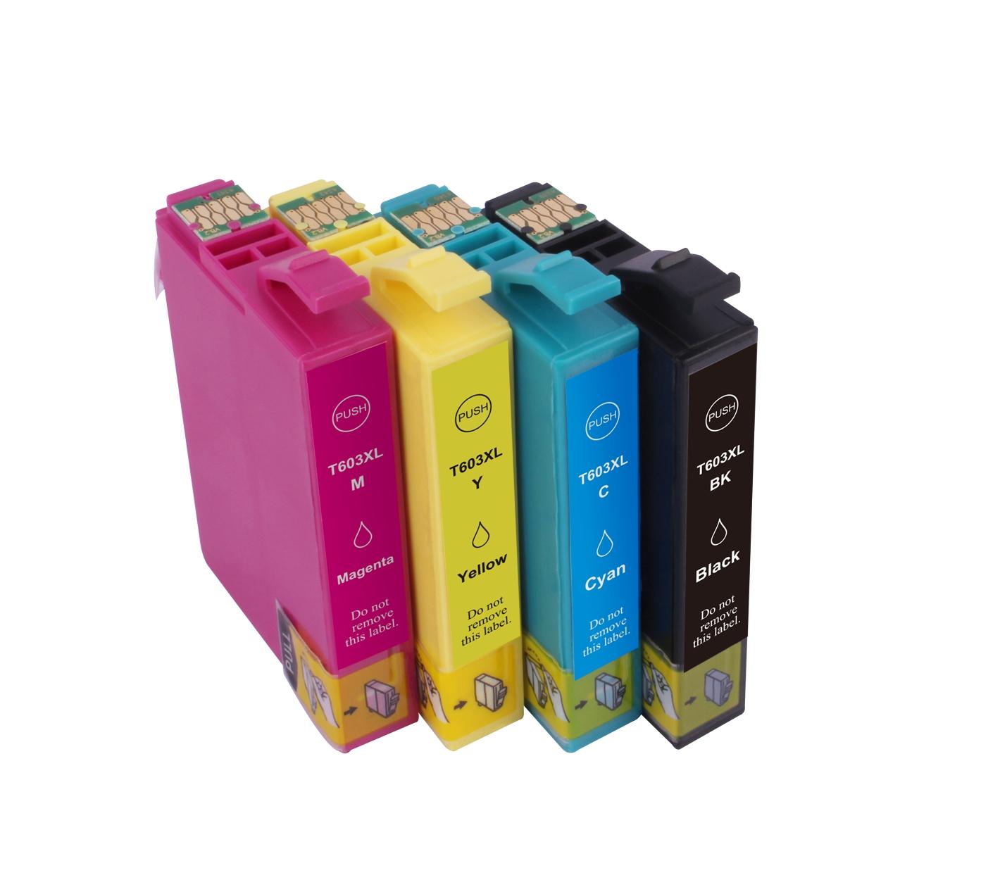 리필 고수익 일회용 칩 T03A1 T03A2 T03A3 T03A4 603XL 엡손 XP-4100 XP-4105